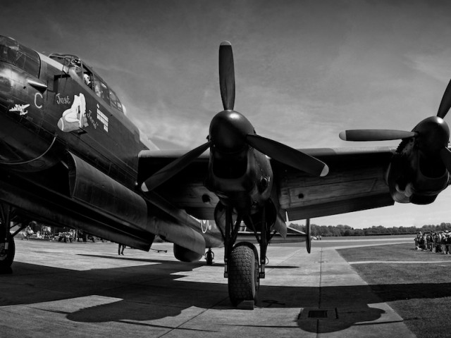 """Just Jane"" Lancaster Bomber"