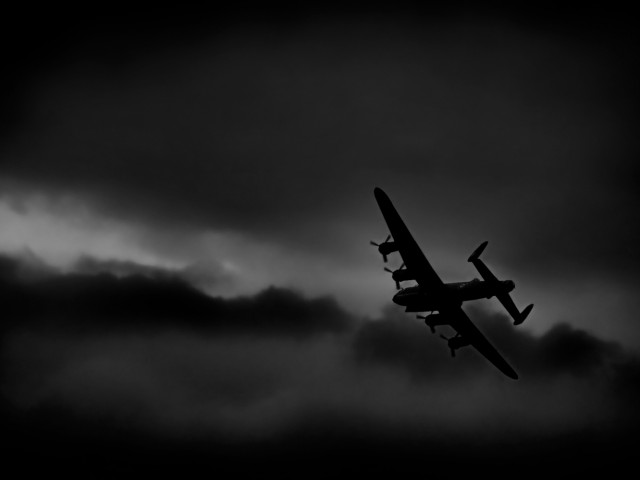 World War II Lancaster Bomber